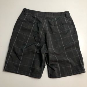 Under Armour Mens Gray Golf Shorts Size 30R